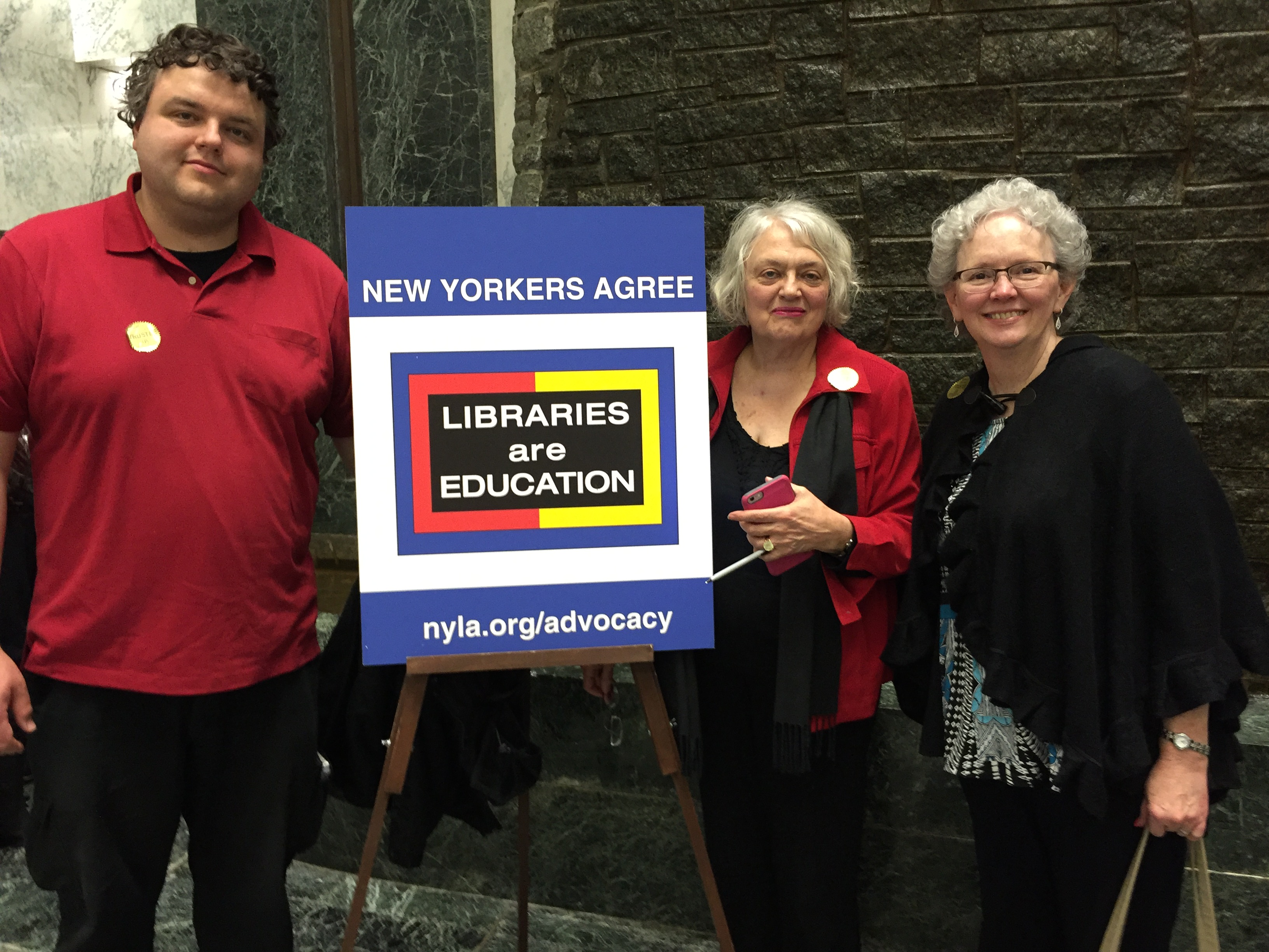 Library Advocacy Day 2016